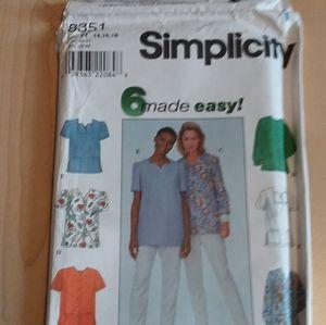 Simplicity 8351 Pattern
